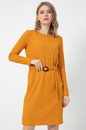 Kuşaklı Elbise-41035114896