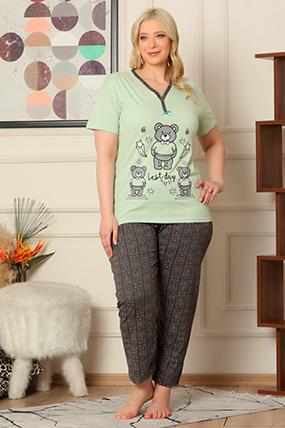 Baskılı Pijama Takımı-41035085450