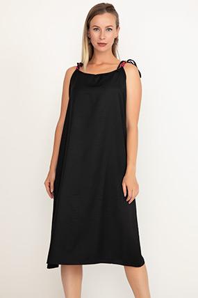 İp Askılı Boncuklu Elbise-41035088146