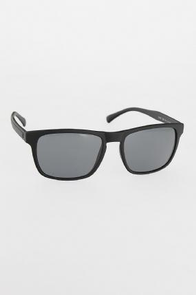Siyah Renk Çerçeveli Koyu Gri Renk Camlı Erkek Güneş Gözlüğü-EG606-KS