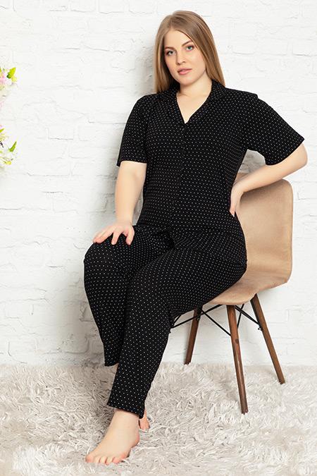 Büyük Beden Pijama Takımı-41035146959