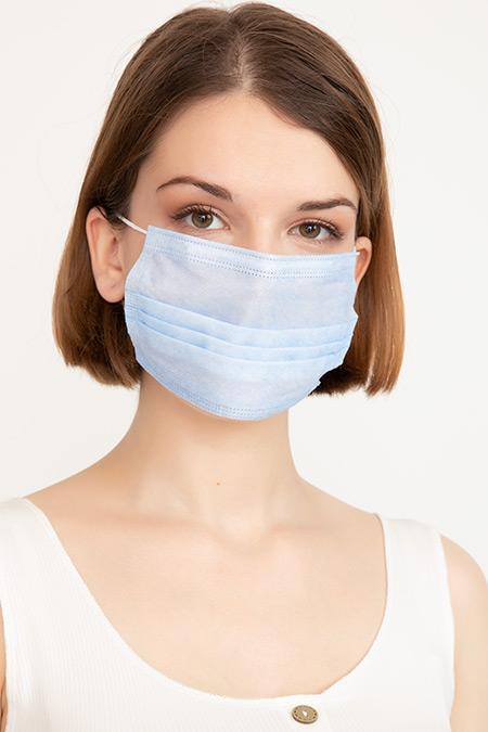 Non Steril Koruyucu 3 Katlı Cerrahi Maske-41035088608