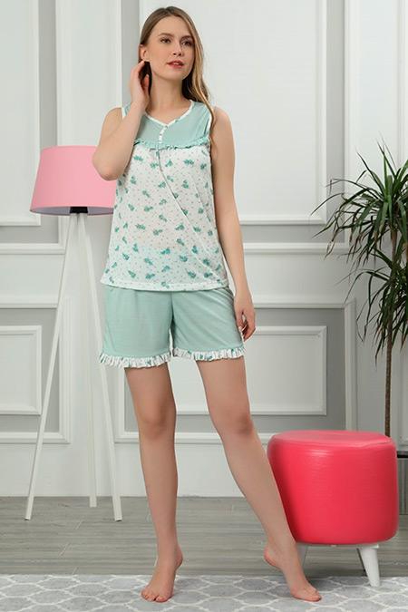 Şortlu Pijama Takımı-41035089989