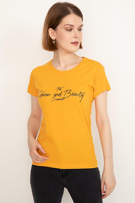 Baskılı T-shirt-41035091957