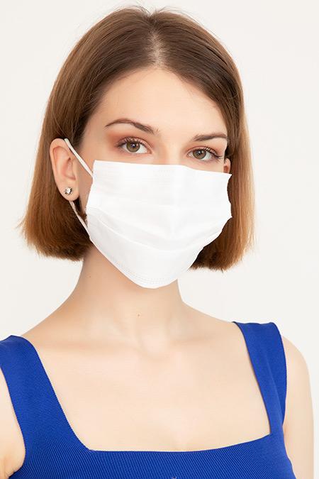 Steril Koruyucu 3 Katlı Cerrahi Maske 10Adet-41035092355
