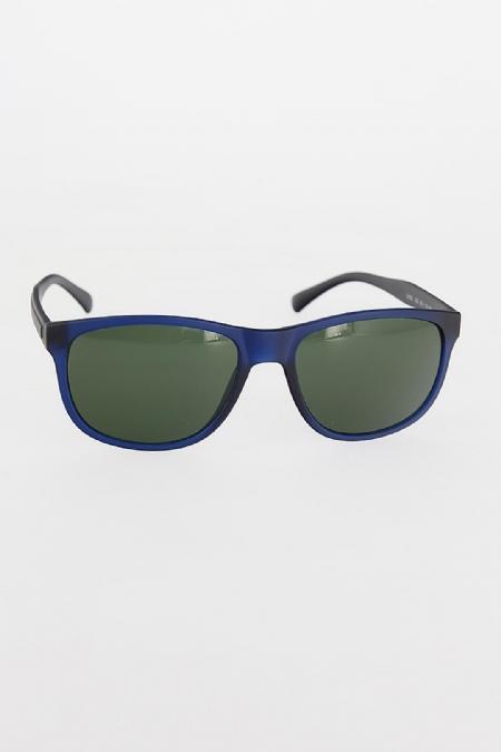 Lacivert Renk Çerçeveli Yeşil Camlı Erkek Güneş Gözlüğü-EG603-KS