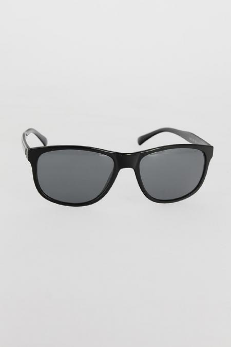 Siyah Renk Çerçeveli Koyu Gri Camlı Erkek Güneş Gözlüğü-EG604-KS