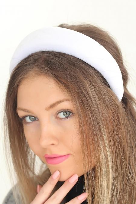 Beyaz Renk Yeni Sezon Kadın Taç-SCB1019-KS