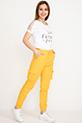 Kargo Cep Pantolon / Sarı