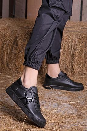 Bagcıklı A Desenlı Spor Ayakkabı-P-016728