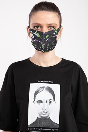 Baskılı Esnek Maske-P-017119