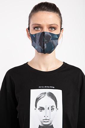 Baskılı Esnek Maske-P-017121