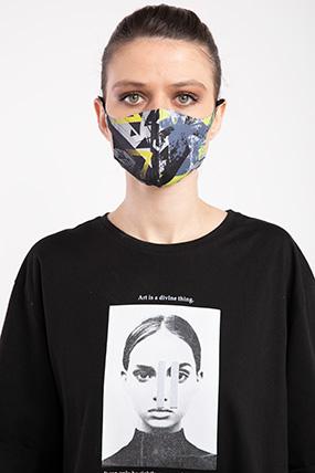 Baskılı Esnek Maske-P-017122