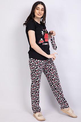 Cool Baskılı Pıjama Takımı-P-018504