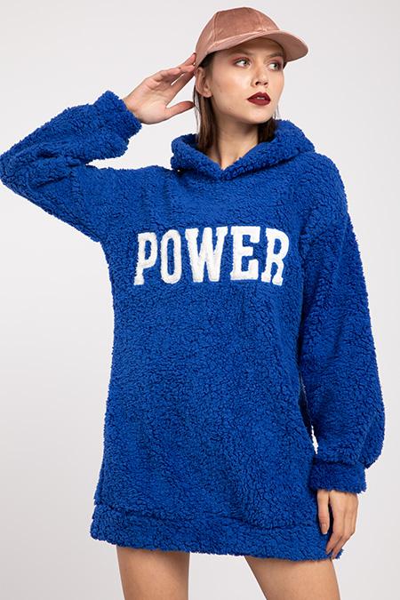 Kapsonlu Power Pelus Sweat_