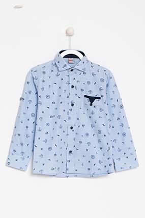 Erkek Çocuk Gömlek (1-14 Yaş)-002237