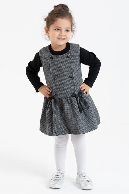 Kız Çocuk Elbise - 1058 (4-8 Yaş)-037840