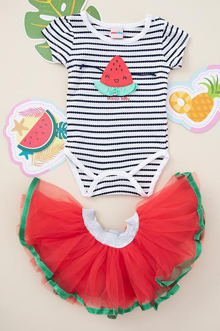 Kız Bebek Tütü Etek Takım - 2033 (3-9 Ay)_