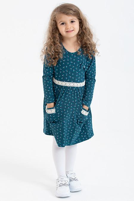 Kız Çocuk Elbise - 19745-395167