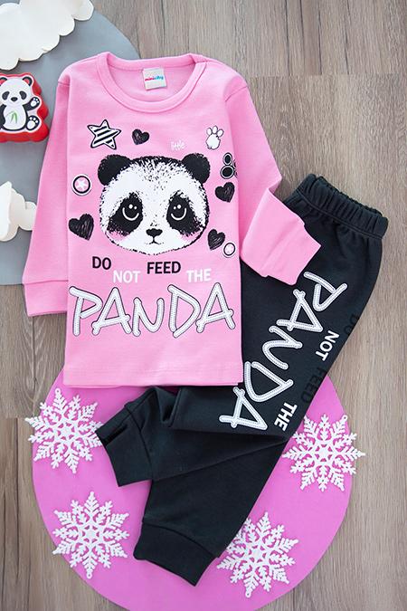 Kız Çocuk Pijama Takımı (4-5-6 Yaş)_