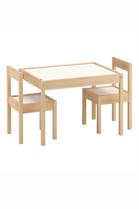 Kukka Ahşap Masa ve Sandalye Seti_