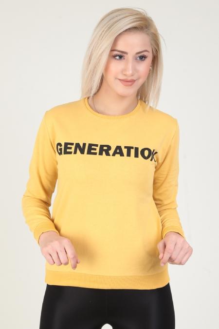 Generation Baskılı Sweatshirt-414519964